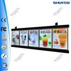 Led restaurant backlit menu board display