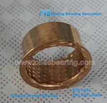 Bronze Flange,PRMF808540 Bronze Wrapped Slide Bearing,Flange Bronze