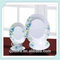 20 pcs acrílico talheres jogo de jantar de cerâmica fabricante porcelana louça atacado