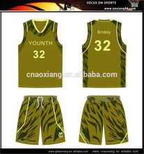 2014 wholesale customized new design basketball uniform popular college basketball jersey