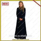 Promotional new style kuwaiti abaya for fashion shops import!