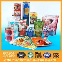 gravure soft plastic printed laminated packing materials plastic film for edible oil