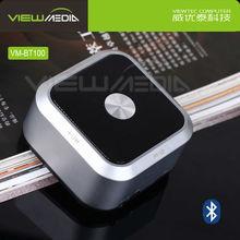 Hidden button mini cube speaker with FM radio VM-BT100
