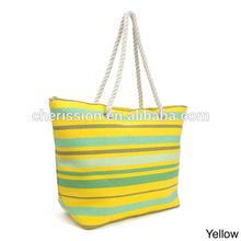Latest design cheap women beach tote bag
