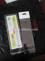opp plastic bags for pen packaging
