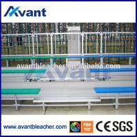 Ango simple soccer,badminton court bleacher,aluminum grandstand for school