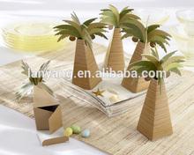 Cute palm tree candy box packaging gift box alibaba china (BF527)
