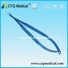 CE& standard iso strumenti oftalmici chirurgici nomi di castroviejo forbici corneali per gli importatori