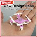 4 CM Cheerson 4CH UFO 3D Rotating Micro 2.4 G 6-Axis RC Mini Quadcopter CX-10 helicópteros de brinquedo que voar