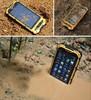 4inch waterproof phone dual core 512M+4G GPS Optional 3G 850/1900MHz landrover a8 MTK6572 ip67 walkie talkie rugged phone