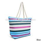 Trendy unique canvas beach tote bag for women