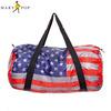 American flag printing foldable mens travel bag