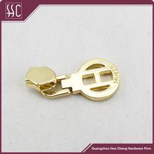 High quality metal gold zipper slider for #5 #8 zippers
