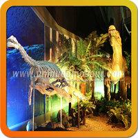Amusement park dinosaur fossil excavation dinosaur skeleton