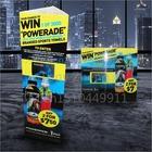 supply advertising display/sign board/flex banner/sticker screen printing U14