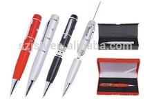 Paper Packaging USB Laser Pointer ,pen Shape Flash Memory With Laser Pointer Gift Set,8GB Laser Pointer pen shape usb