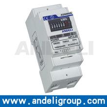 ADM65S Single Phase DIN-RAIL Watt-hour Meter best digital clamp meter