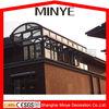 arc roof insulated glass aluminum sunroom roof glass house