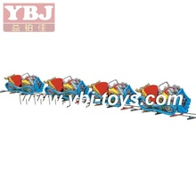 outdoor game Amusements rides electric train for sale