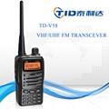 descuento venta caliente del transmisor y receptor de negocios de mano de radio silvercrest