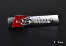 custom abs chrome ABS S line car emblems