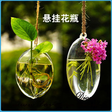 2014 wholesale products hot selling different types glass vase wall hanging flower vase