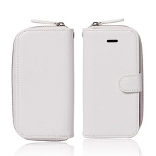 for iphone5 5S wallet cases with strap holder