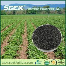 Sustainable farming biochar fertilizer manufacture