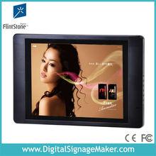 "15"" digital lcd flintstone commercial use body sensor advertising product"