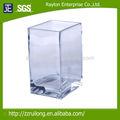Venta al por mayor de vidrio florero/precio barato y de altura floreros de vidrio transparente