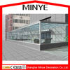 commercial used aluminum sunroom lowe glass sound proof glass house