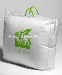 waterproof pvc bags for duvet packaging