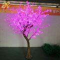 Festival decoração neon da árvore de natal