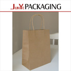 Fashionable design shopping using popular heat seal with logo multi-color kraft paper gift bag
