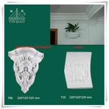 yeso nichos y ménsulas para decoración de hogar