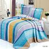Rainbow printed european bed sheets