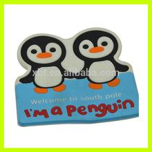 Penguin Shaped Irregular Rubber coaster/pad/Mat