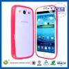 Hot Sale Multiple Colors silicone cover for samsung galaxy s3