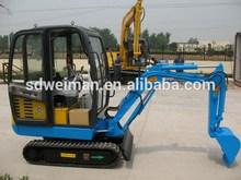 china excavator 1.8 t with CE tata hitachi fro sale