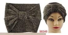 Women Bow Fashion Headband knit Hair Band Wholesale Hairwrap 2014 Top-selling Women Headwrap