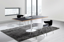 stainless steel dining table designs/wood dining table/dining table set