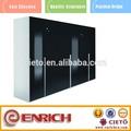 elegante black laca dobradiça de porta de armário portátil