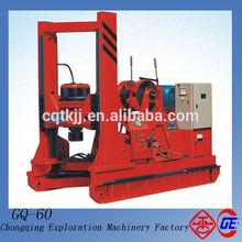 Più caldo e altamente efficiente motore elettrico gq-60 utilizzati battipalo con foratura 30m