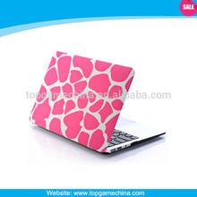 Pink leopard pattern for apple macbook pro case,17 hard case for macbook pro,case for macbook