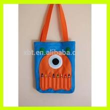 Kindergarten Felt Bag With Crayon Pocket- Blue