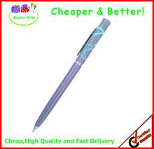 Hot sales Factory price twisted pen hotel pen plastic slim pen