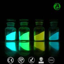 Phosphorescent pigment glow in the dark