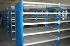 knock-down drinking glass storage rack from China supplier can use for warehouse or supermarket