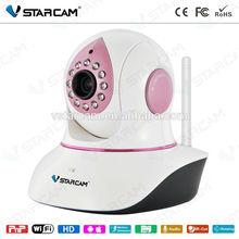 VStarcam T7838WIP-B New EYE4 software Night Vision wifi baby monitor motion detecting indoor Pan/Tilt pnp WiFi baby monitor