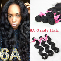 new product 6a/7a grade body wave virgin brazilian hair extension hot new products for 2014